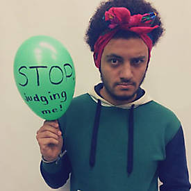 <strong>Mohammed Gaber</strong> <small>Storytelling Workshop Facilitator</small>